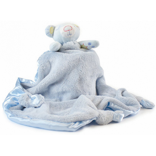 Bubba Blue Bear Security Blanket