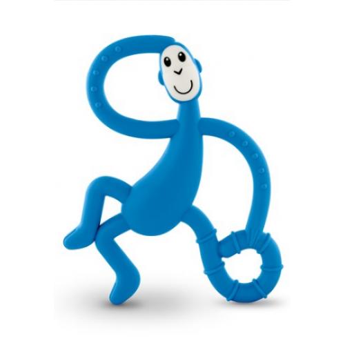 Matchstick Monkey Dancing Monkey Teether Blue