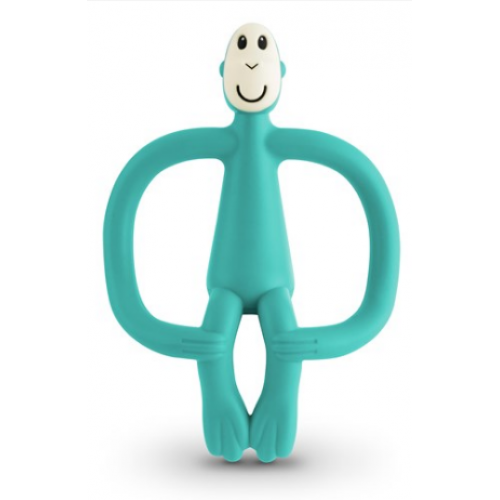 Matchstick Monkey Teething Toy Green