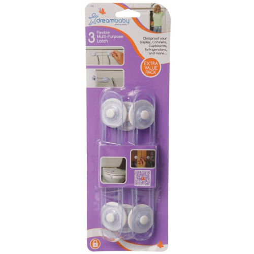 Dreambaby Multi Purpose Latch 3 Pack