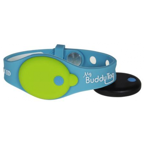 My Buddy Tag Tracking Wristband Blue Green