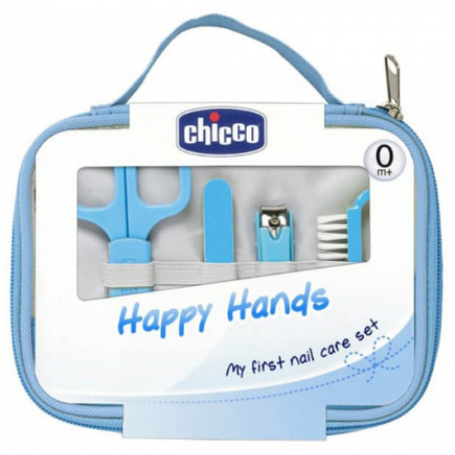 Chicco Happy Hands Nail Care Set Blue
