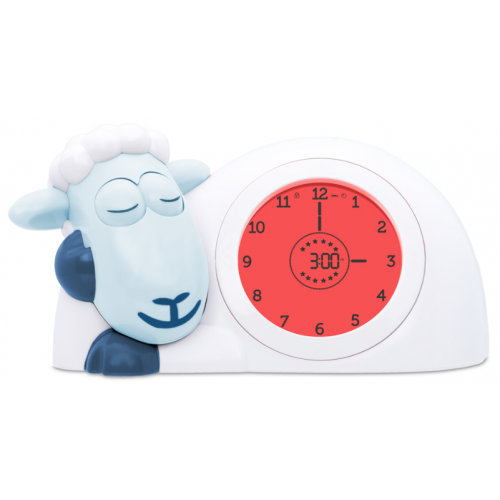 Zazu Sam Sleep Trainer and Night Light Blue
