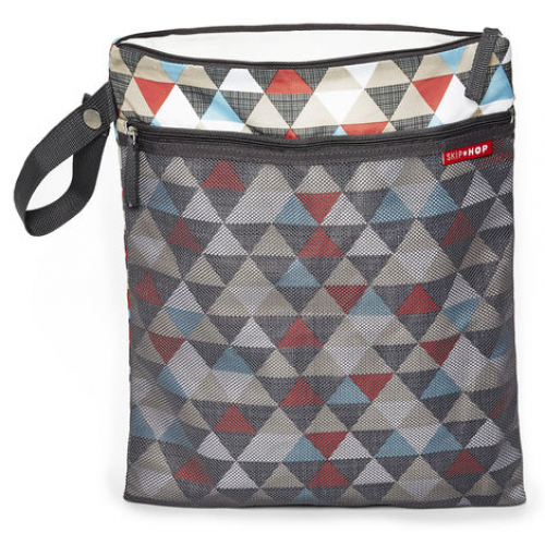 Skip Hop Grab & Go Wet and Dry Bag Triangles