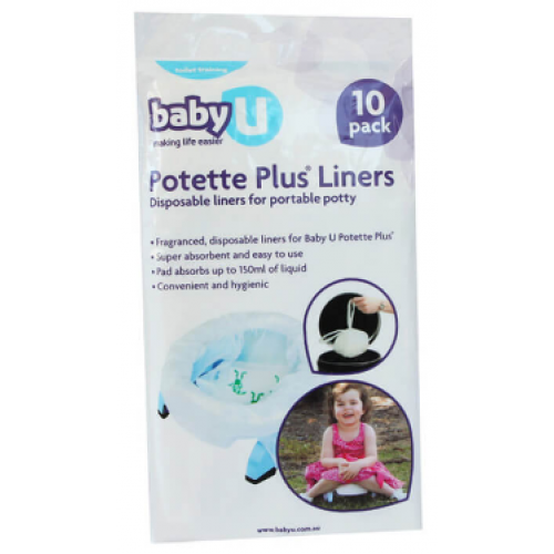 Baby U Potette Plus Disposable Liners