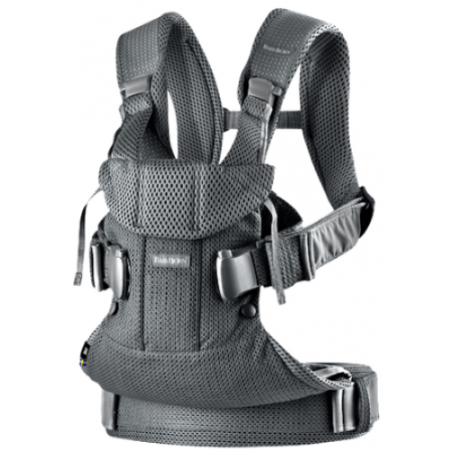 Baby Bjorn Baby Carrier One Air Black Mesh
