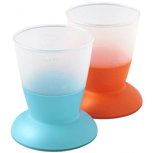 Baby Bjorn Baby Cup Orange and Turquoise