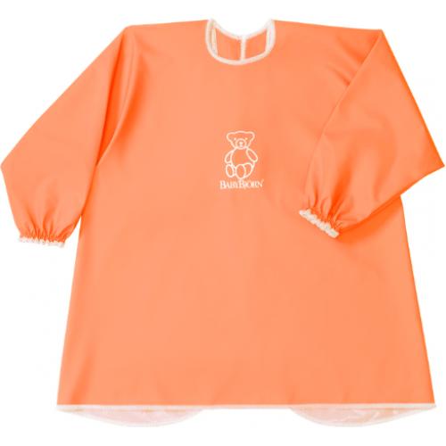 Baby Bjorn Long Sleeve Bib Orange