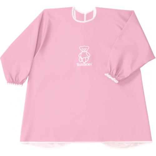 Baby Bjorn Long Sleeve Bib Pink