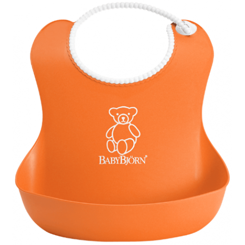 Baby Bjorn Soft Bib Orange