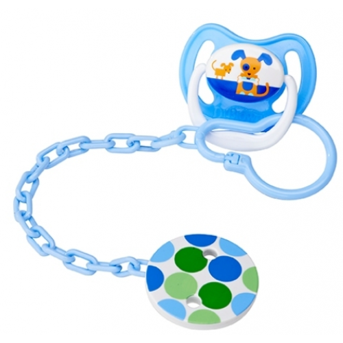 Dr Browns Soother Clip Blue
