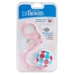 Dr Browns Soother Clip Pink