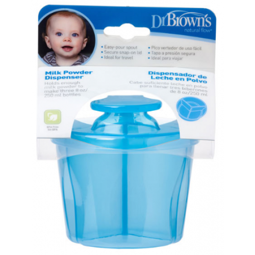 Dr Browns Milk Powder Dispenser Blue