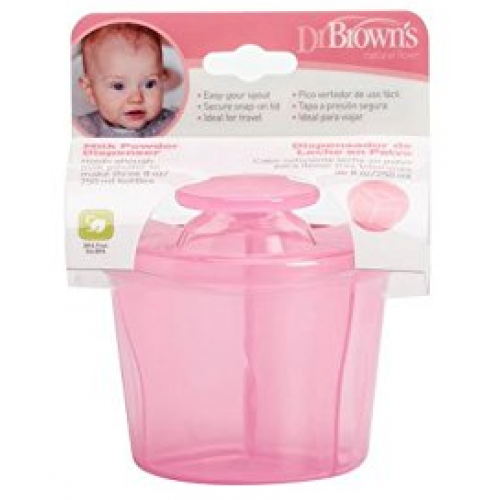 Dr Browns Milk Powder Dispenser Pink