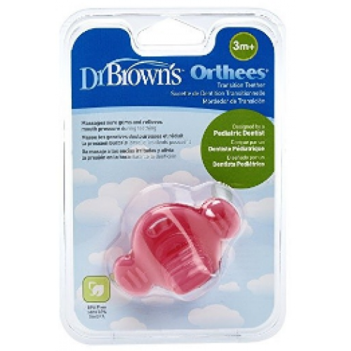 Dr Browns Orthees Pacifier Pink