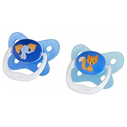 Dr Browns PreVent Pacifiers Blue 6-12 Months