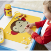 Skip Hop Zoo Fold and Go Silicone Placemat Monkey