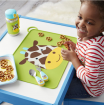 Skip Hop Zoo Fold and Go Silicone Placemat Giraffe