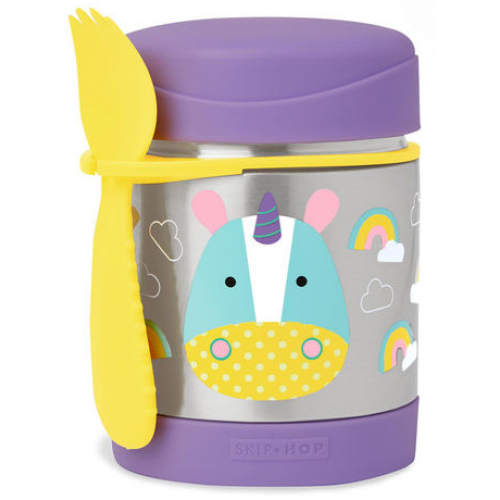 Skip Hop Zoo Insulated Food Jar Unicorn