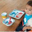 Skip Hop Zoo Plate and Bowl Set Owl