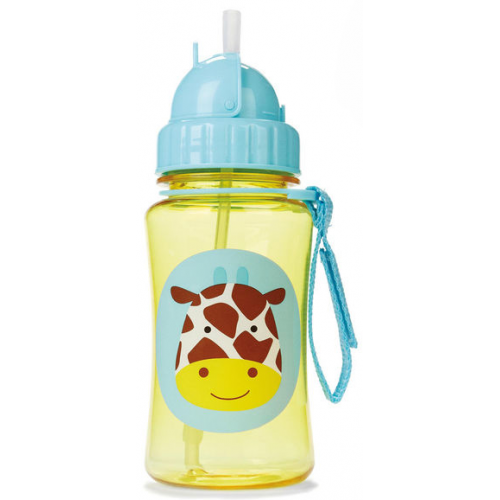 Skip Hop Zoo Straw Bottle Giraffe