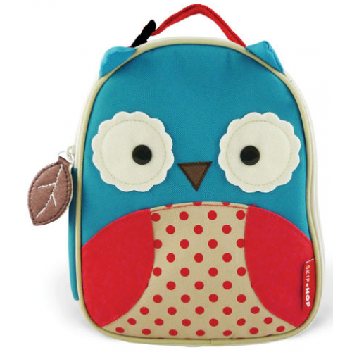 Skip Hop Zoo Insulated Lunch Bag Owl