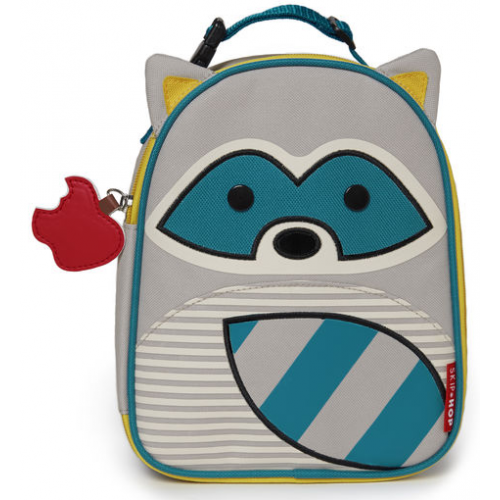 Skip Hop Zoo Insulated Lunch Bag Raccoon