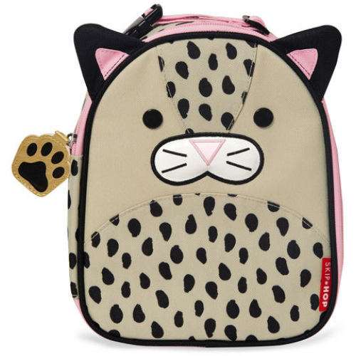 Skip Hop Zoo Insulated Lunch Bag Leopard