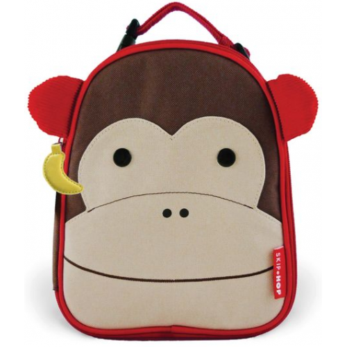 Skip Hop Zoo Insulated Lunch Bag Monkey