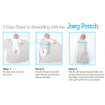 Bubbaroo Joey Pouch Swaddle Wrap Blue