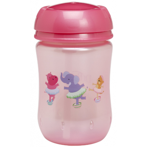 Dr Browns Straw Cup 270ml Pink