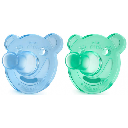 Avent Soothie Blue Green 0-3m