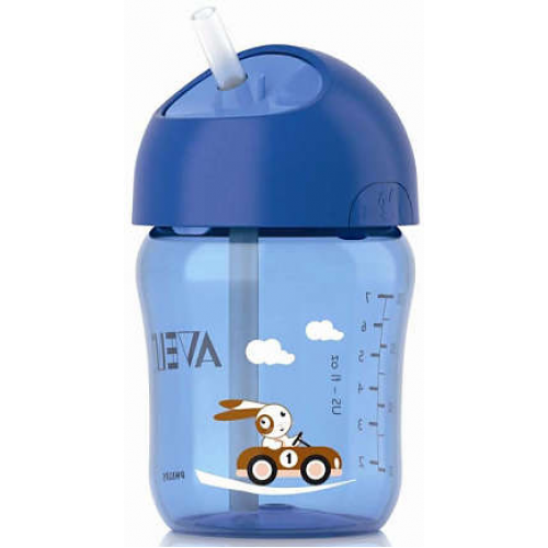 Avent Straw Cup Blue 12m+