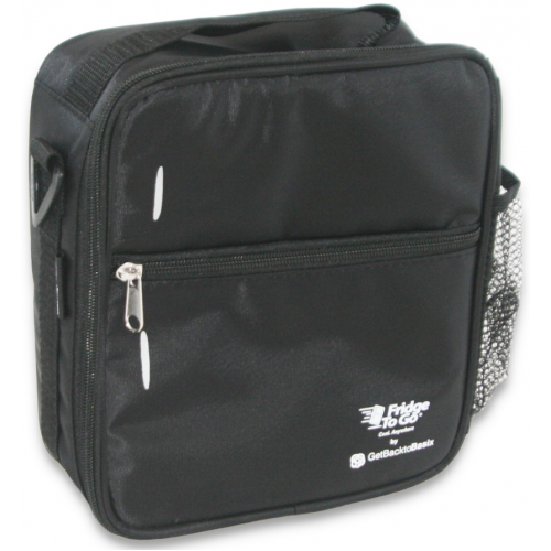 Fridge to Go Lunch Bag Medium Black