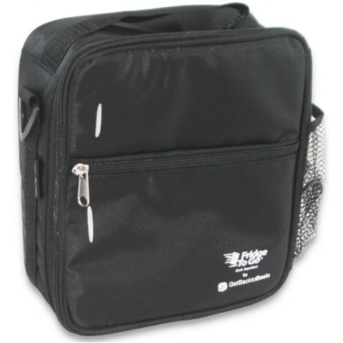 Fridge to Go Lunch Bag Medium Black