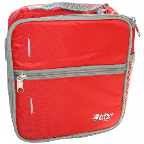 Fridge to Go Lunch Bag Medium Red