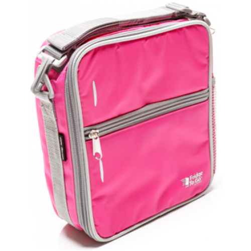 Fridge to Go Lunch Bag Small Pink