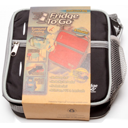 Fridge to Go Lunch Bag Small Black