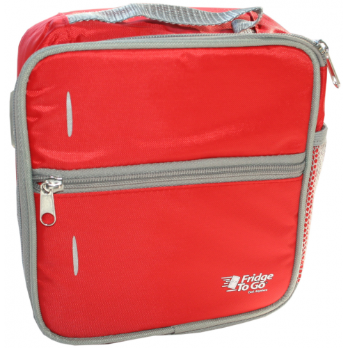 Fridge to Go Lunch Bag Small Red