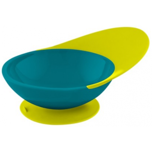 Boon Catch Bowl Teal Yellow