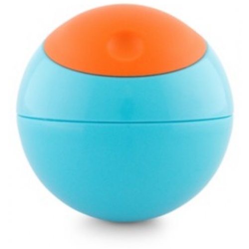 Boon Snack Ball Container Blue Orange