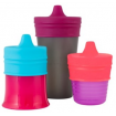 Boon Snug Spout Pink Multi