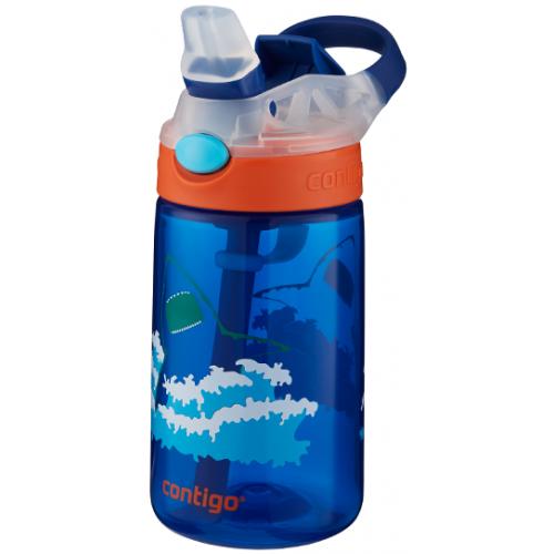 Contigo Gizmo Straw Flip Bottle Shark