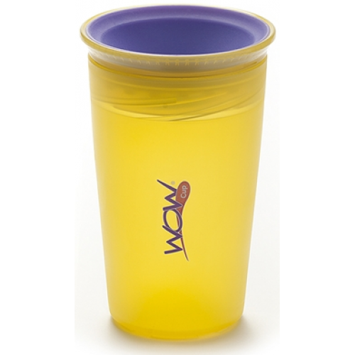 Juicy Wow Spill Free Cup Yellow