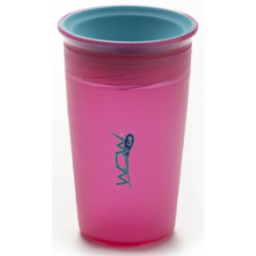 Juicy Wow Spill Free Cup Pink