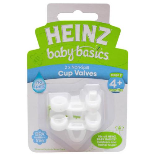 Heinz Baby Basics Non Spill Cup Valves