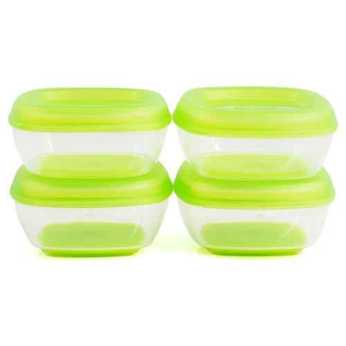 Heinz Press n Pop Freezer Pots 4 Pack Green