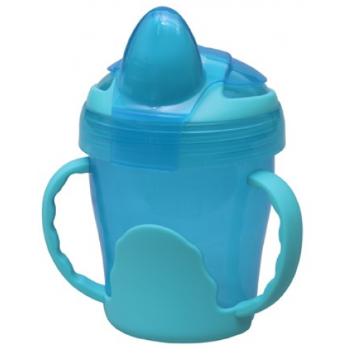 Heinz Baby Basics Trainer Cup with Handles Blue