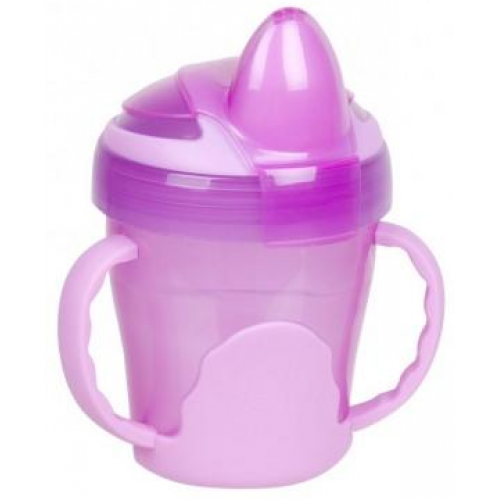 Heinz Baby Basics Trainer Cup with Handles Pink