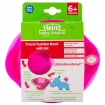 Heinz Baby Basics Travel Suction Bowl with Lid Pink